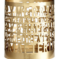 H&M Metal Tea Light Holder $5.99