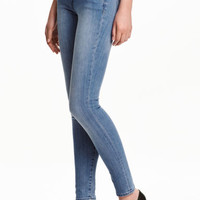 Super Skinny Low Jeans - Light denim blue - Ladies | H&M GB
