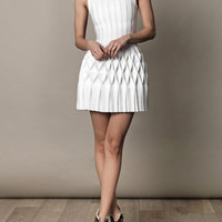 Origami pleated-skirt dress | Azzedine Alaïa | MATCHESFASHION.COM