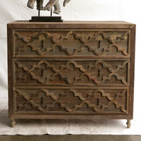 Creative Co-Op Morocco Recycled Elm Sideboard & Reviews | Wayfair