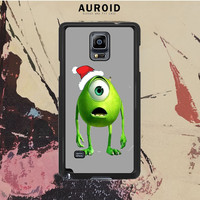 Monster Universe Funny Christmas Samsung Galaxy Note 4 Case Auroid