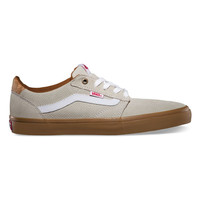 Vans Cork Lindero Mens Shoes Oatmeal/Gum  In Sizes