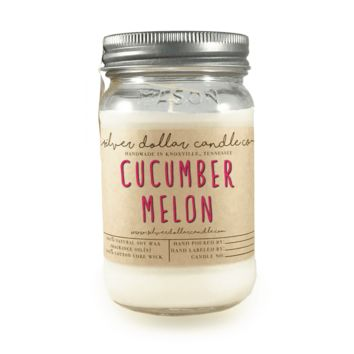 Cucumber & Melon - 16oz Soy Candle