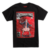 Stranger Things Eleven Comic Cover T-Shirt