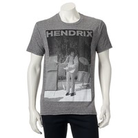 Jimi Hendrix Guitar Playing Tee
