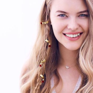 Tassel Braid Charms by Chloe + Isabel