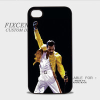 Queen Freddie Mercury Plastic Case for iPhone, iPod, Samsung Note, Samsung Galaxy, HTC, BB Z10 by FixCenters