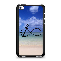Infinity Anchor Summer Beach iPod Touch 4 | 4th Gen case