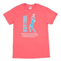 Setter Short Sleeve :: 10.118.O32.LG :: Lucky Dog Volleyball