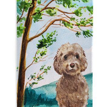 Under the Tree Labradoodle Michelob Ultra Hugger for slim cans CK2023MUK