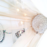 Dreamcatcher canopy home decor, bedroom