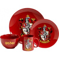 Harry Potter | Gryffindor 4 Pc DINNER SET