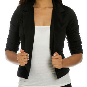 Shrunken Boyfriend Blazer | Shop Trending Now at Wet Seal