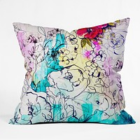 Holly Sharpe Spring Haze Throw Pillow