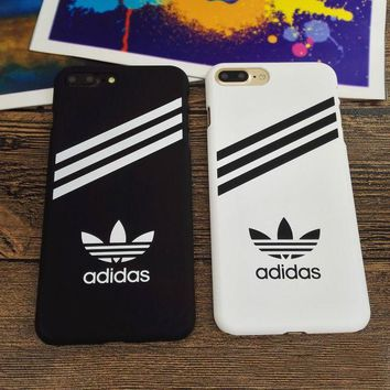 PEAPDQ7 Hot Sports Adidas Hard Cover Case For Iphone 6 6s Plus & 7 7 Plus +Gift Box