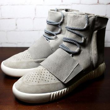 Adidas Men Kanye West Yeezy Boost 750 Sneakersmen Ankle Boots Black Grey Brown Kanye