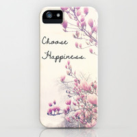 Choose Happiness iPhone Case by Olivia Joy StClaire | Society6