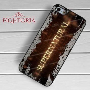 Supernatural Logo - zDzA for  iPhone 6S case, iPhone 5s case, iPhone 6 case, iPhone 4S, Samsung S6 Edge