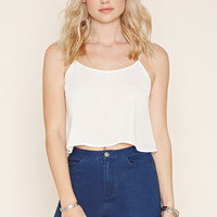 Boxy Cropped Cami | Forever 21 - 2000187161