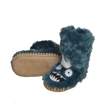 Ice Monsters Kids Plush Slippers