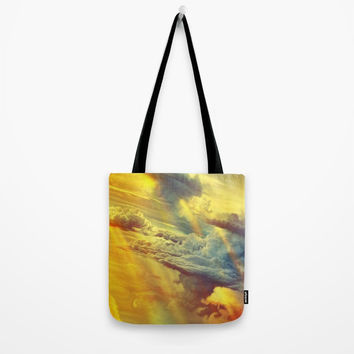 Flying in height Tote Bag by exobiology