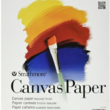 Strathmore 200 Canvas Paper Pad, 9 x 12""