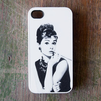 Audrey Hepburn iPhone 4 Case New iPhone 4 & iPhone 4s Film Hollywood