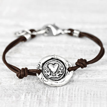 Carry Your Heart Bracelet