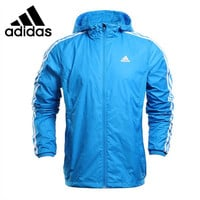 Original  Adidas Performance Men's Jacket Hooded Sportswear