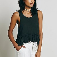 Free People Womens Rainy Night Tank