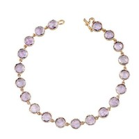 <b> IRENE NEUWIRTH </b> <br> Rose Cut Rose of France Bracelet - Rose Gold