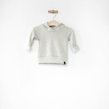 Jogger Hoodie in Heather Gray