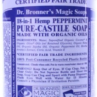 Dr. Bronner's Magic Soaps Peppermint Liquid Soap 32 fl oz