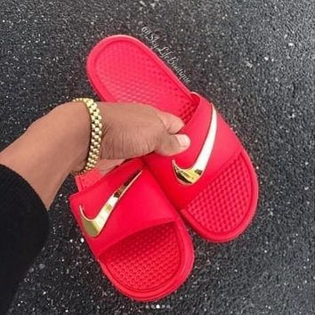 NIKE Casual Slipper Sandals Shoes-1