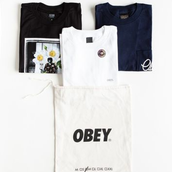 OBEY MENS GRAB BAG