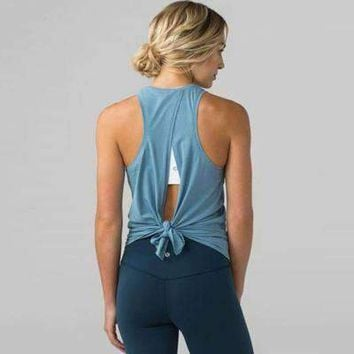 Tied Back Workout Top 7 Colors