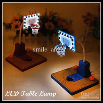 LED Basketball Night Lights Children's Eye protection lamp Bedside Lamps Home Decorations Gifts for Girlfriend and Basketball Fans Hot Sale