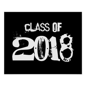 Class of 2018 poster