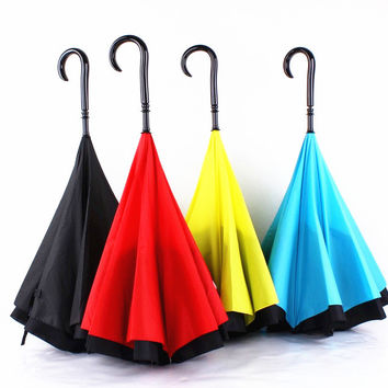 Stylish Strong Character Design Innovative Double-layered Umbrella [10151405964]