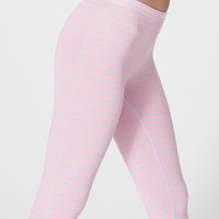 American Apparel - Printed Cotton Spandex Jersey Legging
