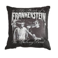 Rock Rebel Bride Of Frankenstein We Belong Dead Pillow