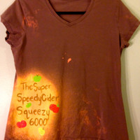 MLP Super Speedy Cider Squeezy 6000 Hand Painted Tee by CosmicTees
