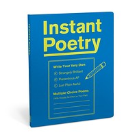 Instant Poetry Write Your Own Poems Journal