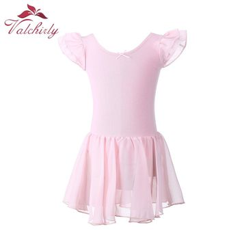 Gymnastics Leotard for Girls Ballet Dress Kids Leotard Tutu Dance Wear Costumes Ballet Leotards for Girl Ballerina