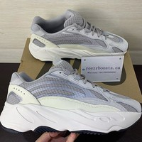 Adidas Yeezy 700 Runner Boost Fashion Casual Running Sport Shoes White&Grey