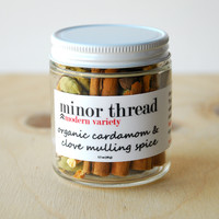 Organic Cardamom and Clove Mulling Spice Blend