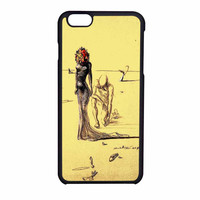 Salvador Dali Woman With Flower Head iPhone 6 Case