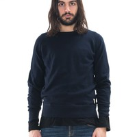 Dag Cotton Cashmere Navy - Nudie Jeans