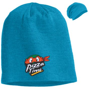 Pizza Time DT618 District Slouch Beanie