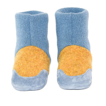 Baby Cashmere Slipper Socks, Cashmere Slippers from Recycled Sweaters
